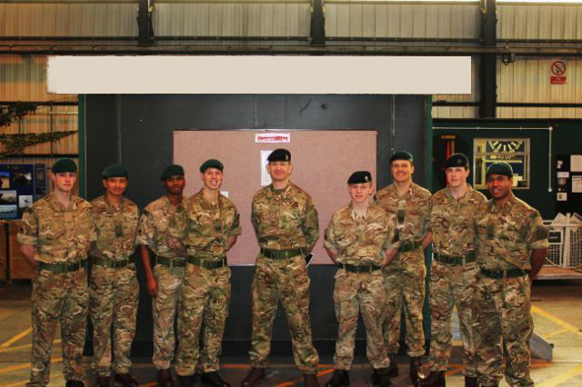 Corps Col Visit 1 (1)