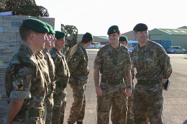 Corps Col Visit 2