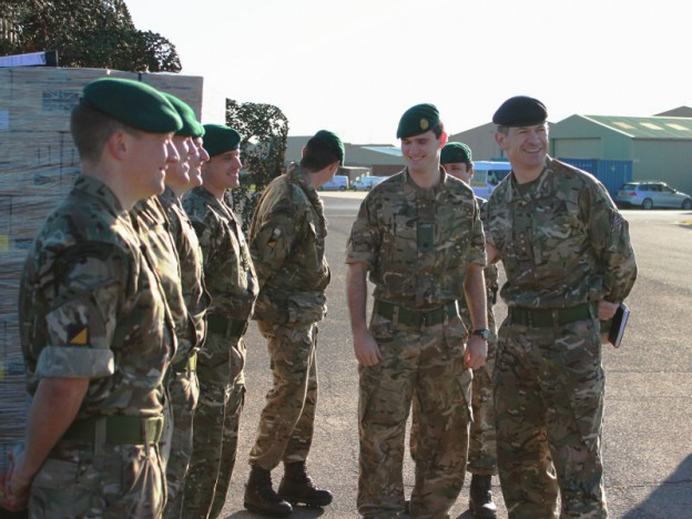 Corps Col Visit 5 (1)