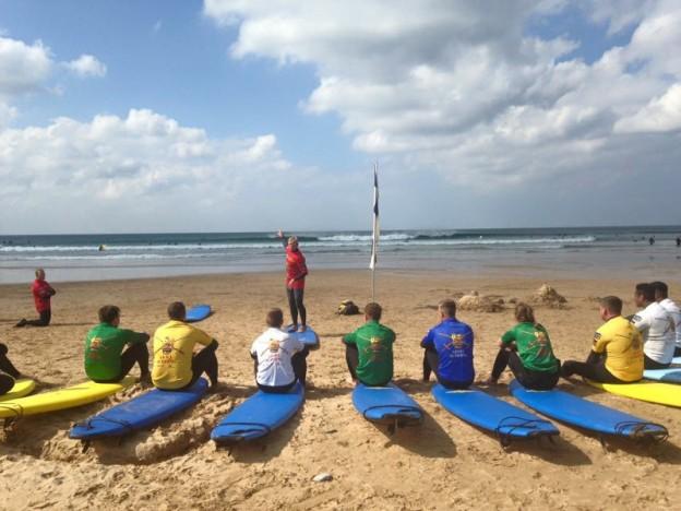 Surfing, 7 Regt RLC