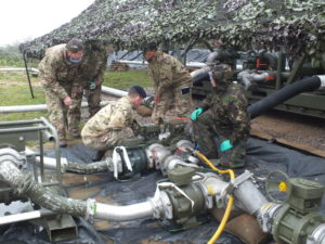 Exercise IRON VIPER 15, 9 Regiment RLC