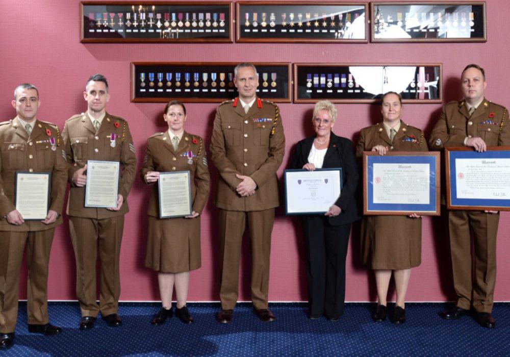 9 Regiment RLC Long Service & Good Conduct Awards Presentations