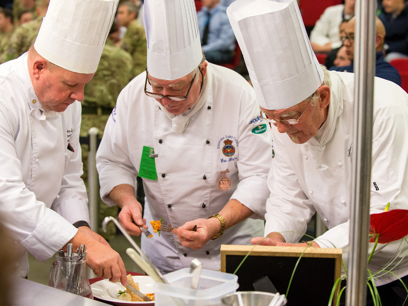 Army Chefs, RLC Chef, Army Catering, EX JOINT CATERER