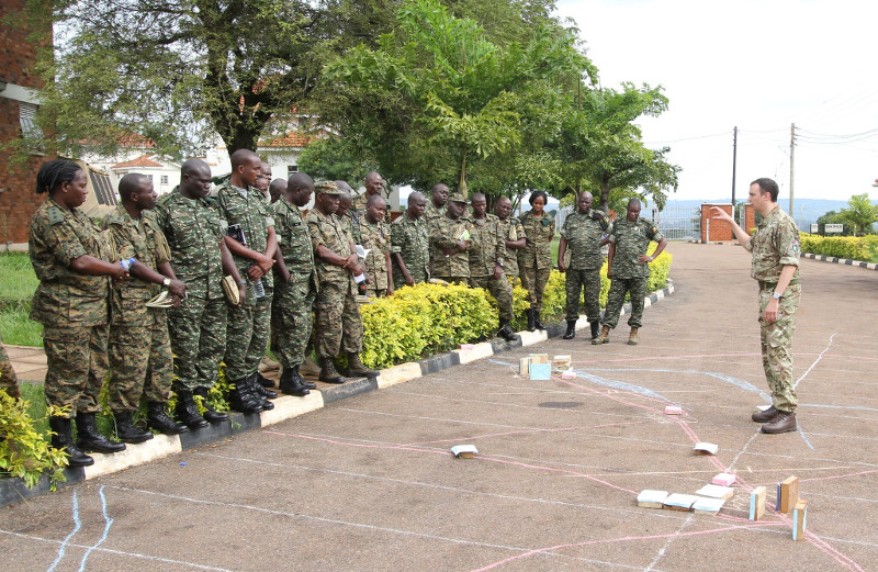 UPDF 7 Regiment RLC