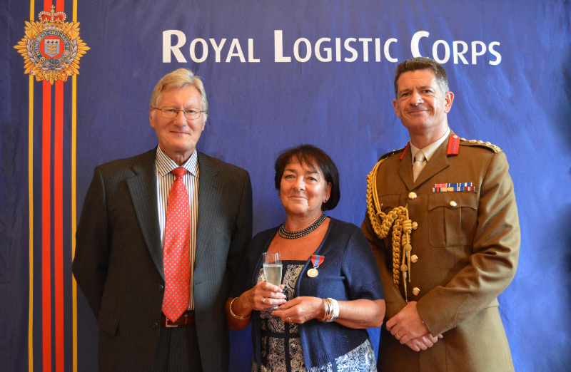 Mrs Stephanie Bentley has been awarded the Imperial Service Medal