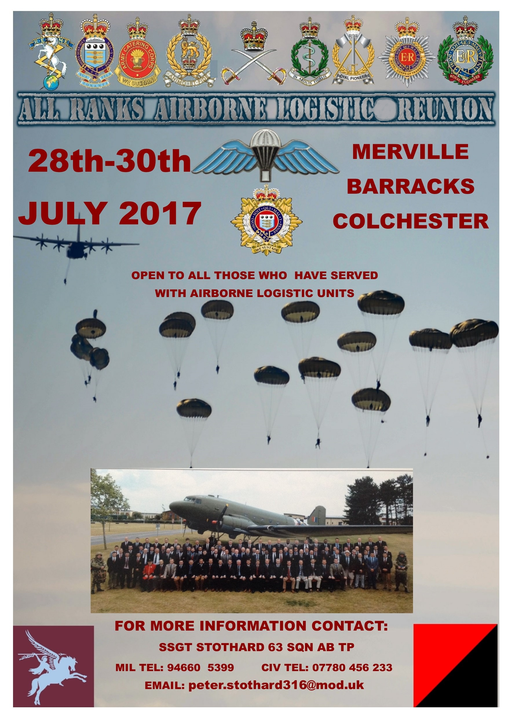 All Ranks Airborne Logistic Reunion