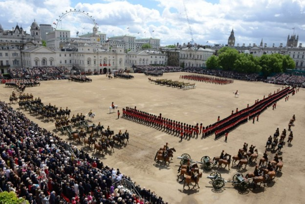 Trooping the Colour Photo: The Household Division