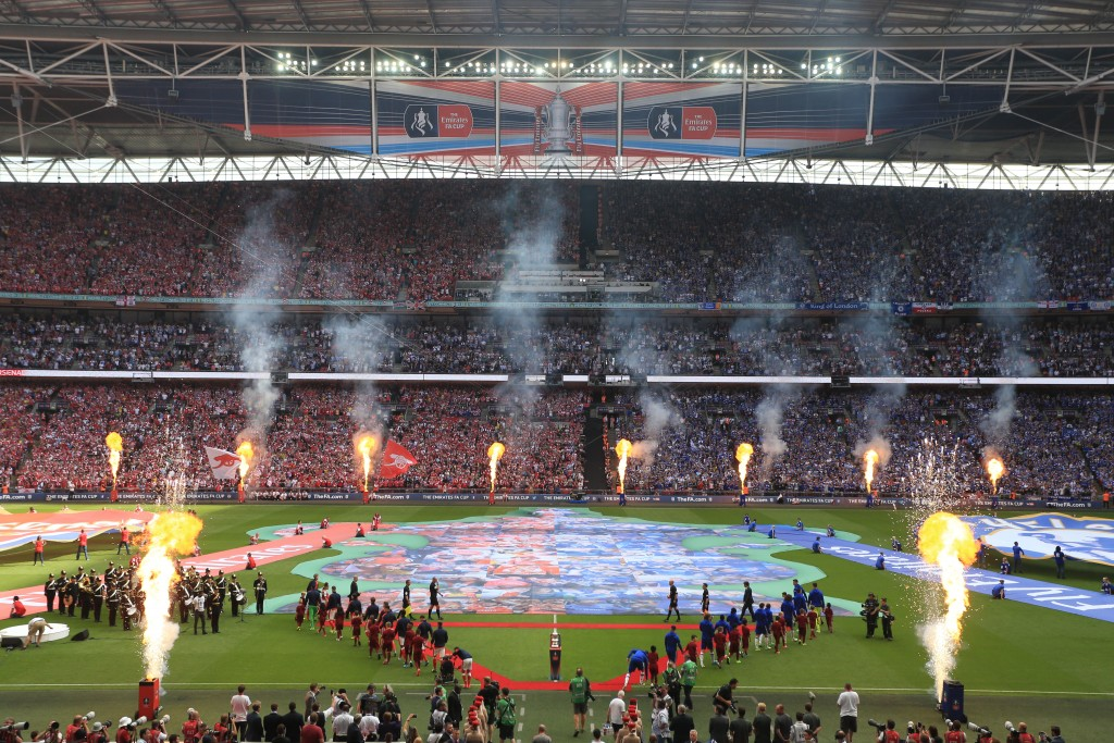 RLC Band opens the FA Cup Final