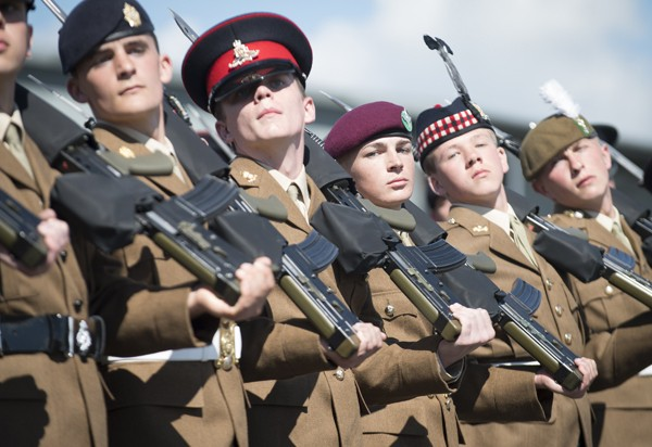 JUNIOR SOLDIERS STRIDE TOWARDS NEW CAREERS