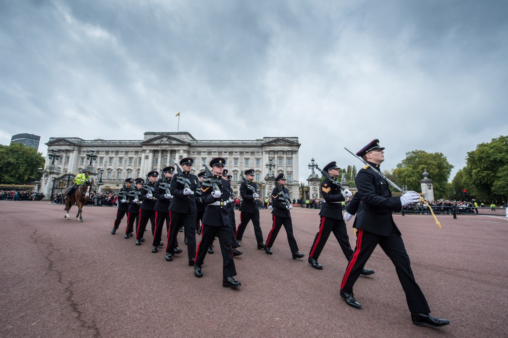 3 Reg Royal guard duty honour