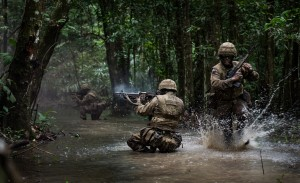 1st Battalion the Irish Guards Exercise MAYAN STORM