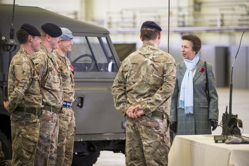 JHSS marks 35 years with a Royal Visit