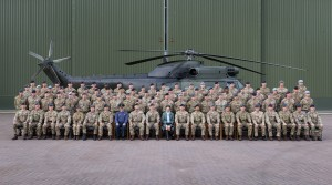 HRH Princess Anne visits RAF Benson