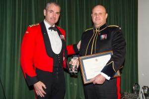 Brig Shirley presenting award