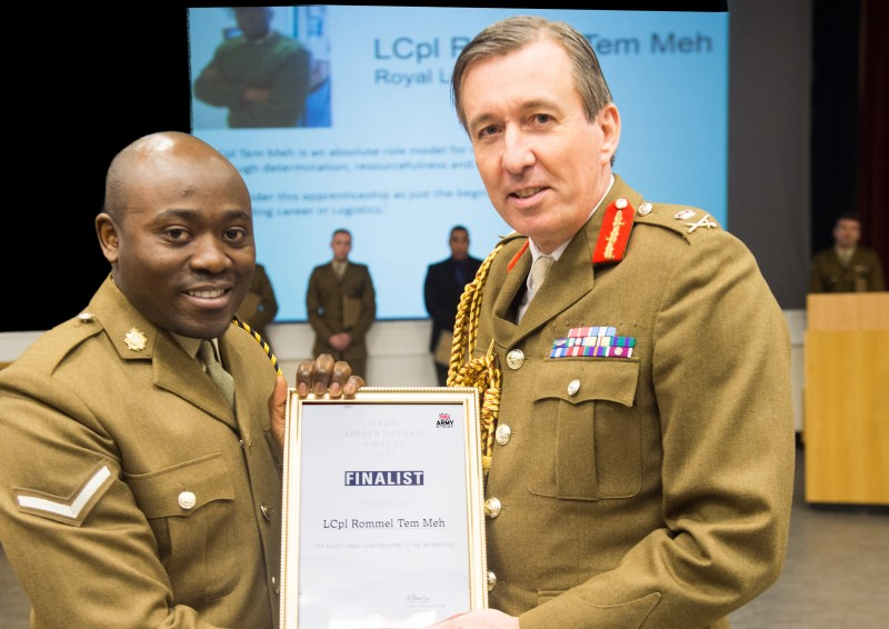 Army Apprentice Awards