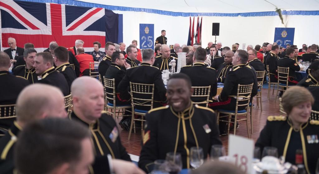 RLC25 Regimental Dinner