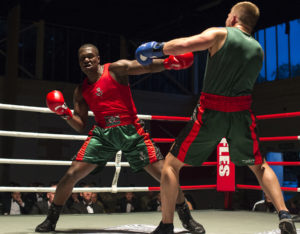 Cpl Tom Evans Rifles Boxing