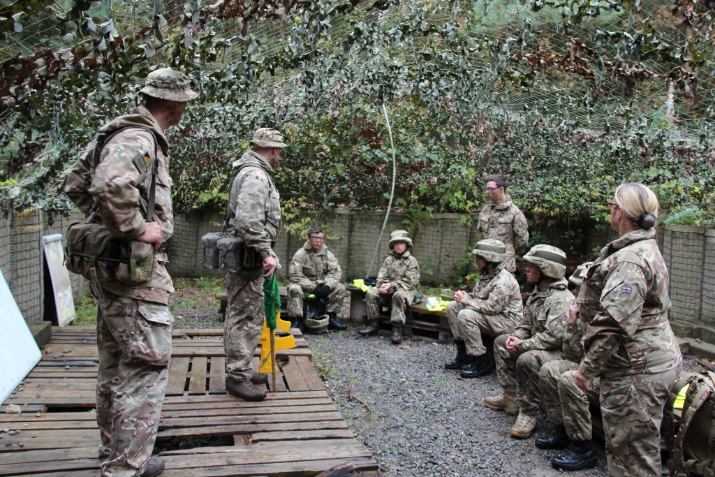Cadets gain Army life experience at DST