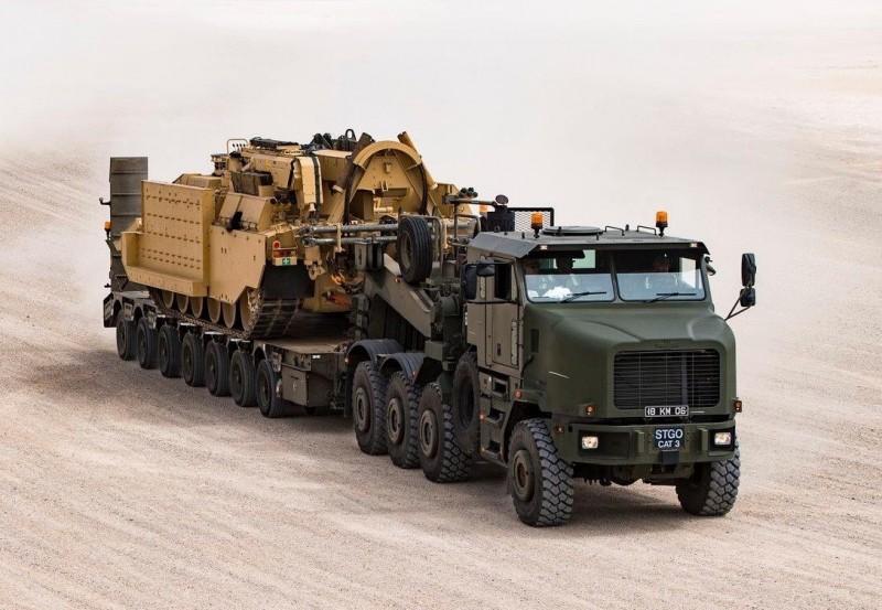 Tank Transporter