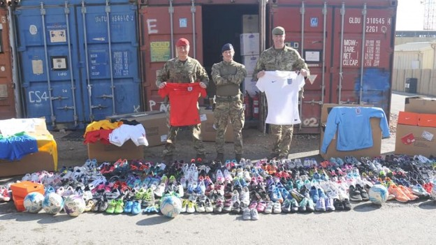 Sports Support for Afghan Cadets
