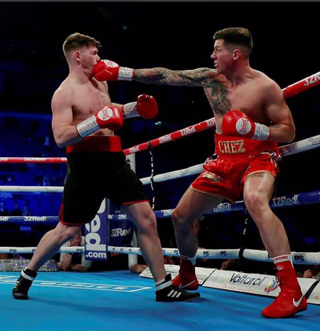 The Army Sportsman of the Year 2018 fought his opponent over four three-minute rounds at the cruiserweight limit
