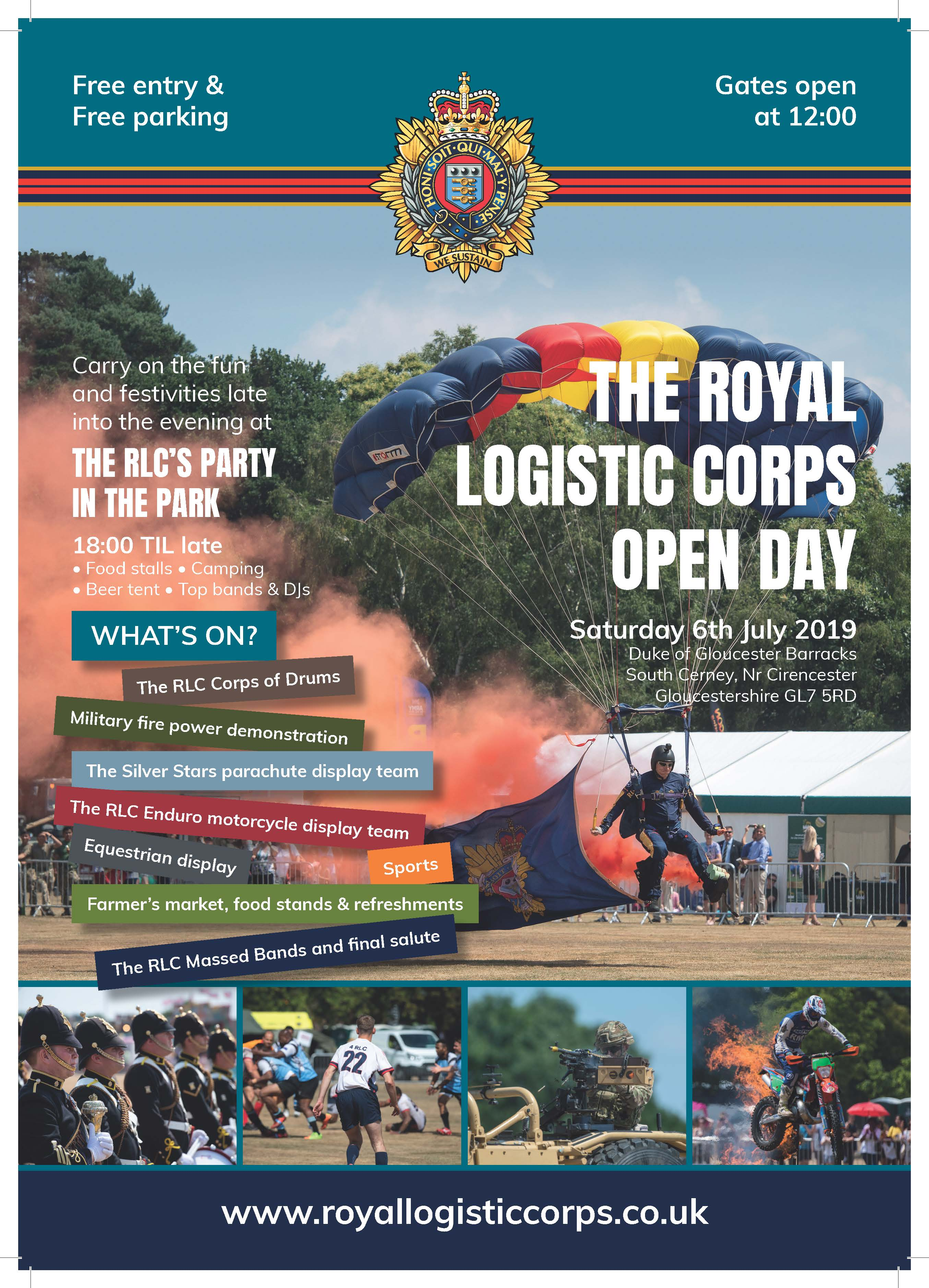 Corps Open Day 2019
