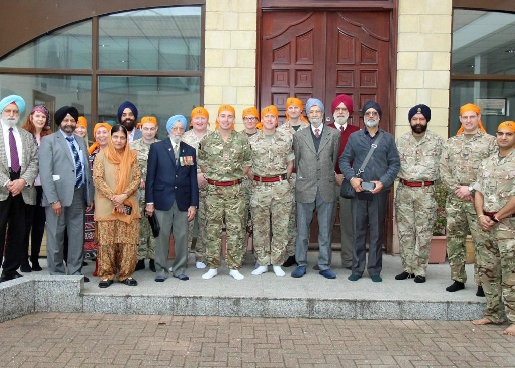 Recognising the Sikh contribution to the British Army