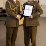Maj Dean Hammett was runner-up in the Apprenticeship Champion category