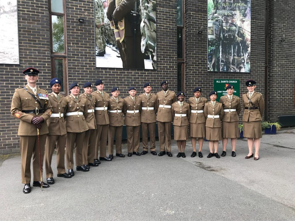 Latest recruits to pass out at Pirbright