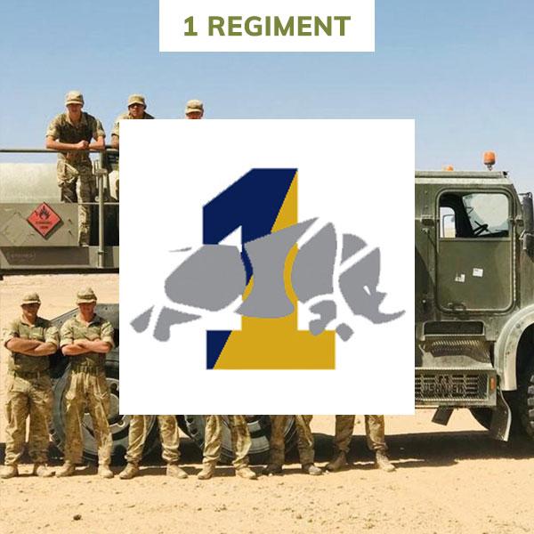1 regiment rlc