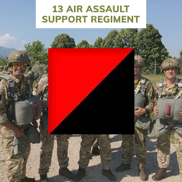 13 regiment rlc