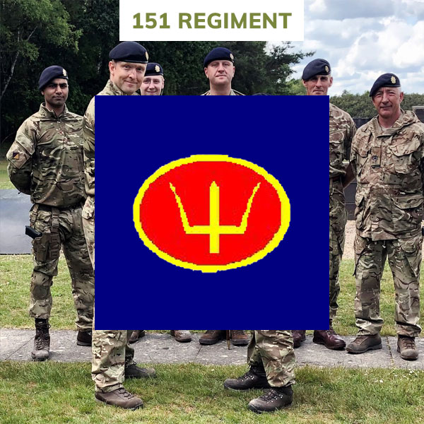 151 regiment rlc