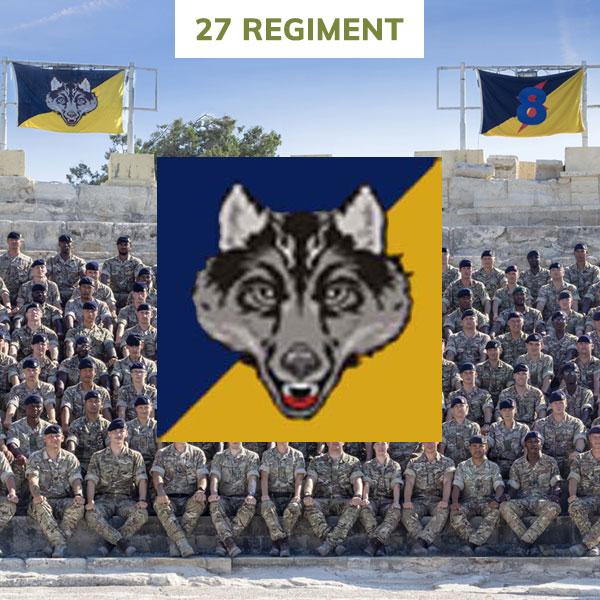 27 regiment rlc
