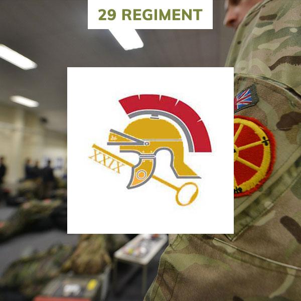 29 regiment rlc