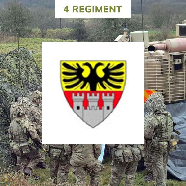 4 regiment rlc