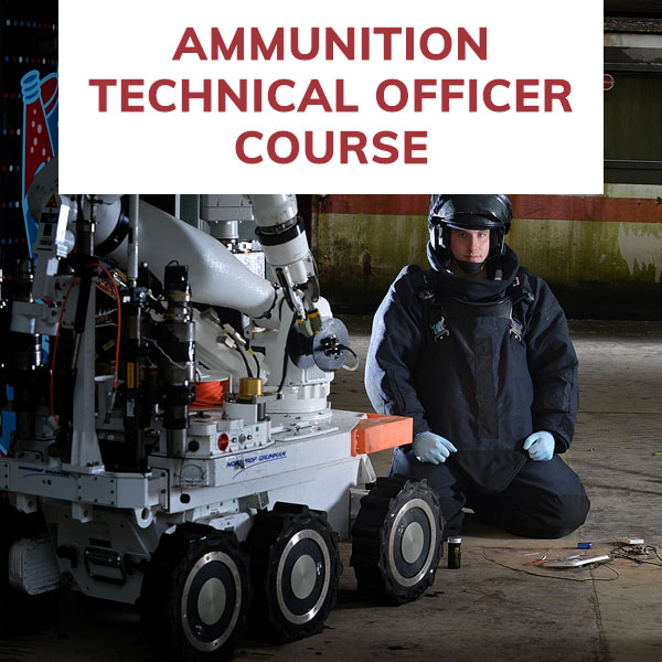 RLC Ammunition Technical Officer Course