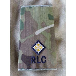 rlc 2nd lieutenant
