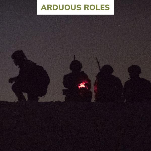 rlc arduous roles