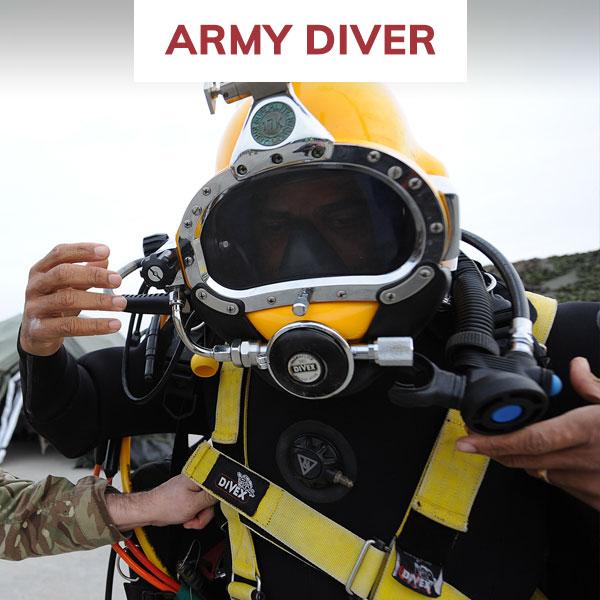 rlc army diver